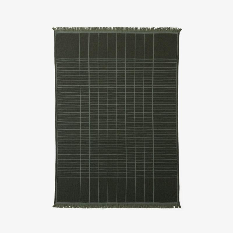Untitled Throw AP10, Dark Green