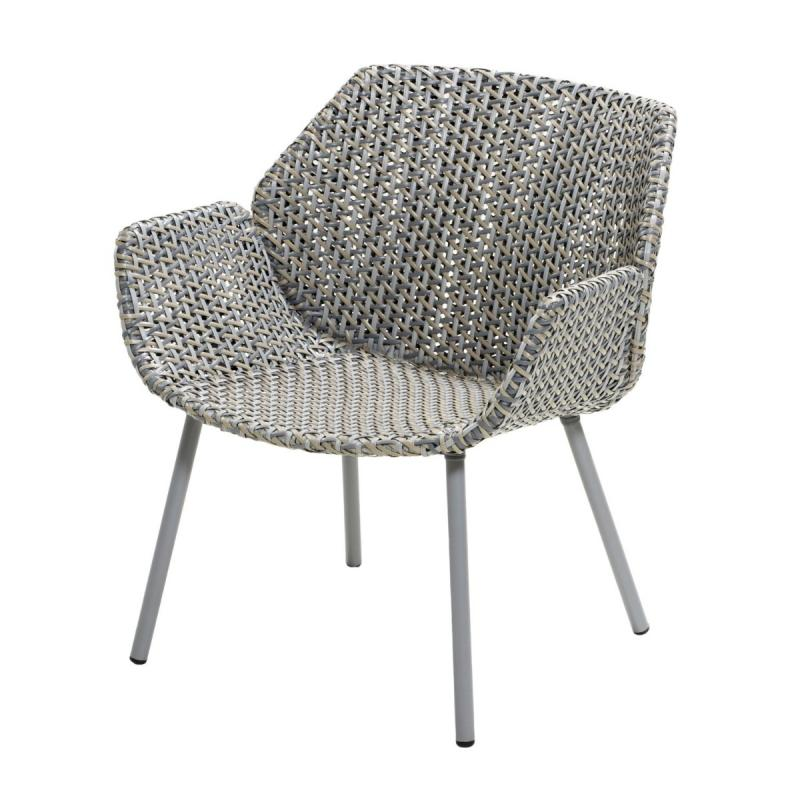 Vibe Lounge Chair, Light Grey / Grey / Taupe