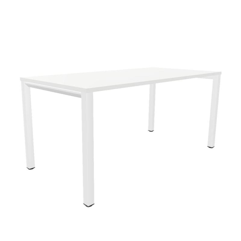 Vital Pro Desk, 160x80cm, White MFC / White Frame