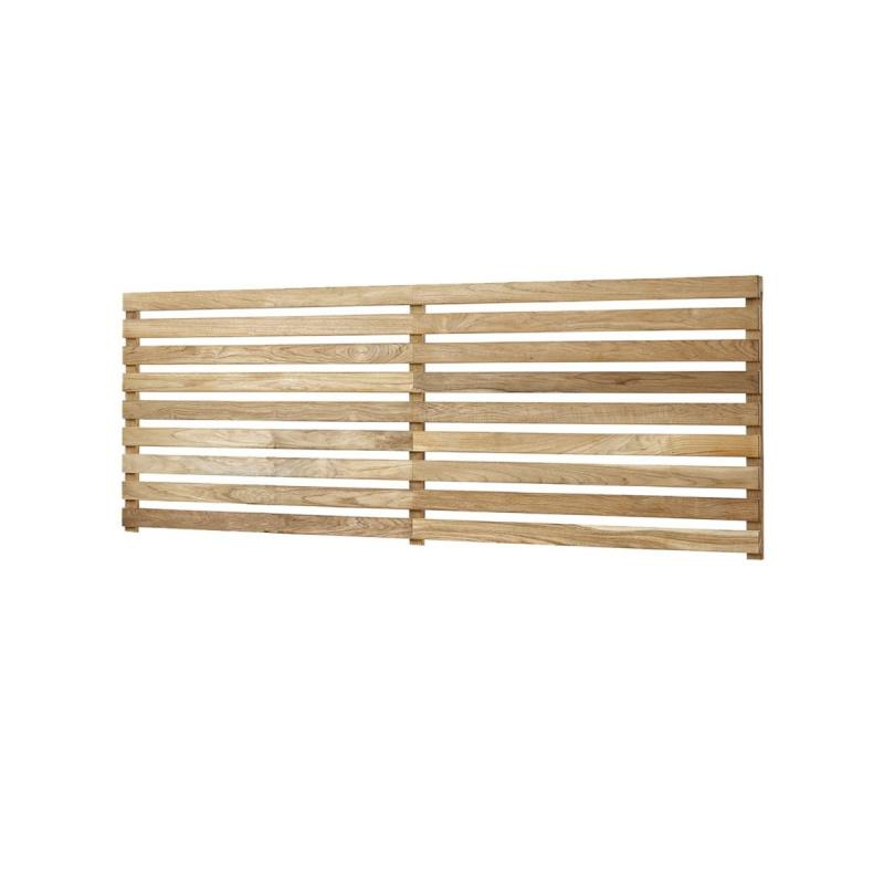 Drop Teak Wall For Drop Kitchen Wide Module