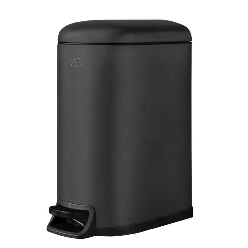 Walther Pedal Bin, Black