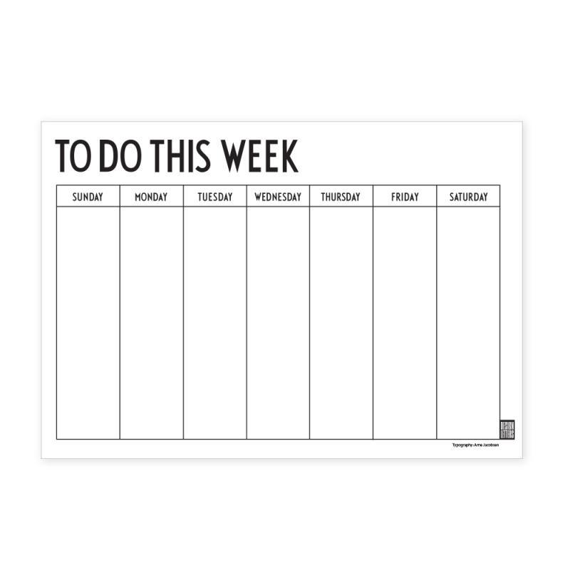 Weekly Planner (US)