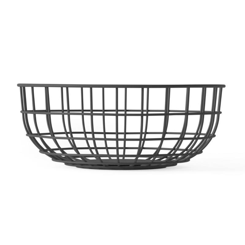 Wire Bowl, Black