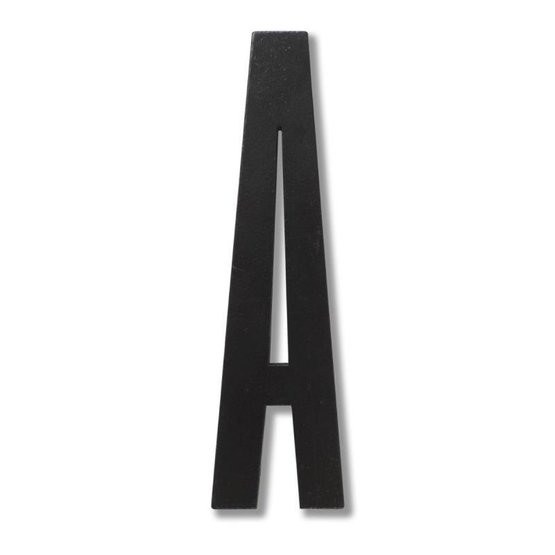 Wooden Letter, Black